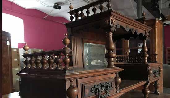 Verkauf von Antiquitäten